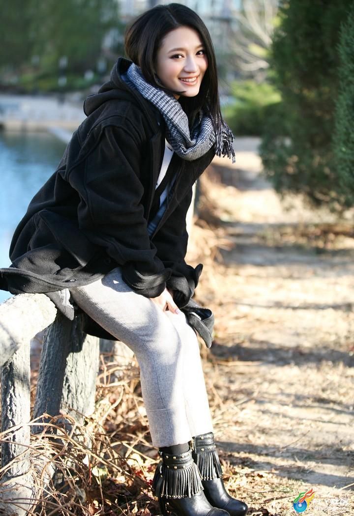 清新自然美女刘凯菲写真