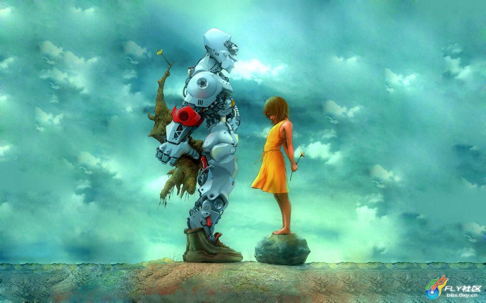 高清壁纸:奇幻世界之机器人篇