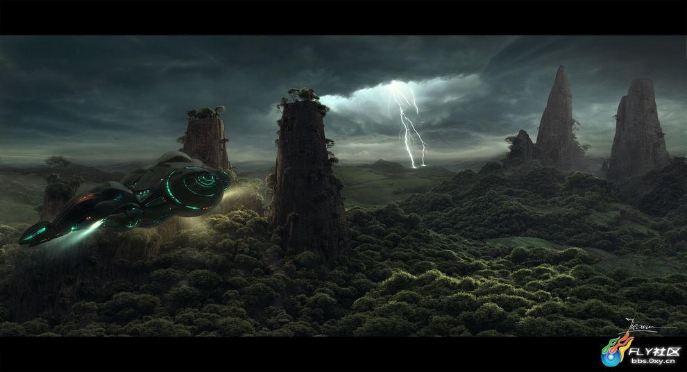 高清壁纸:奇幻世界之风景篇
