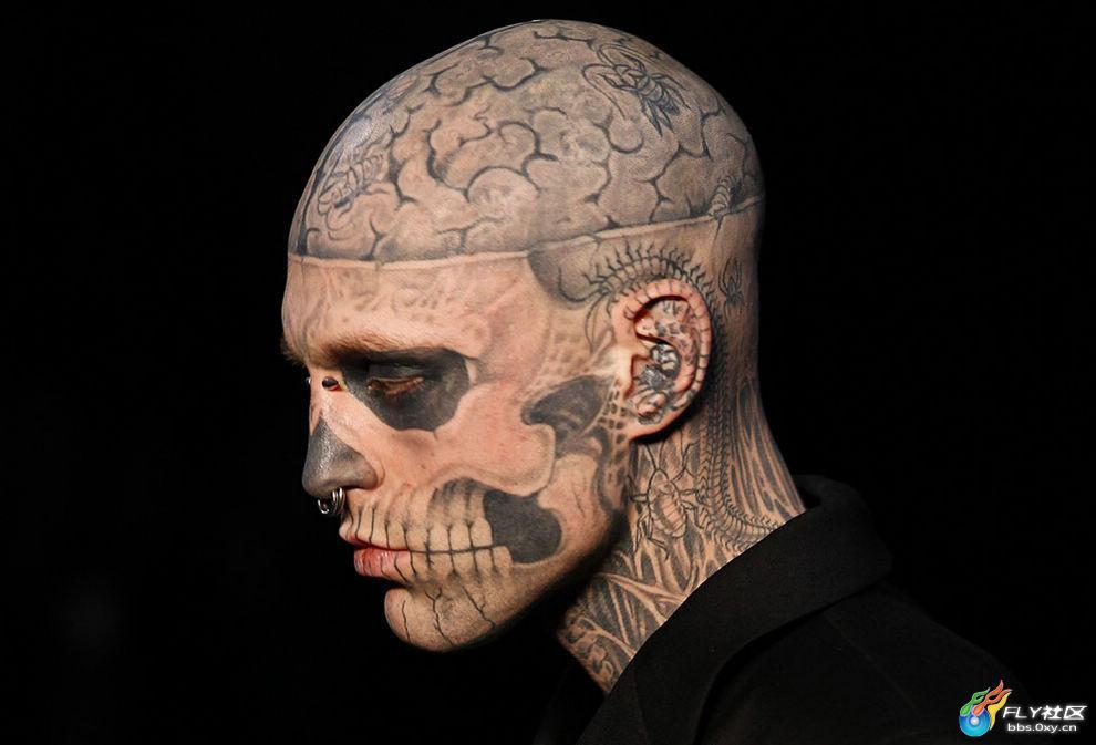 纹身可以代表纪念,祷告,警示,或者仅仅是一项神奇的艺术.