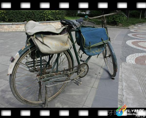 实测永久牌邮政自行车 巨量图