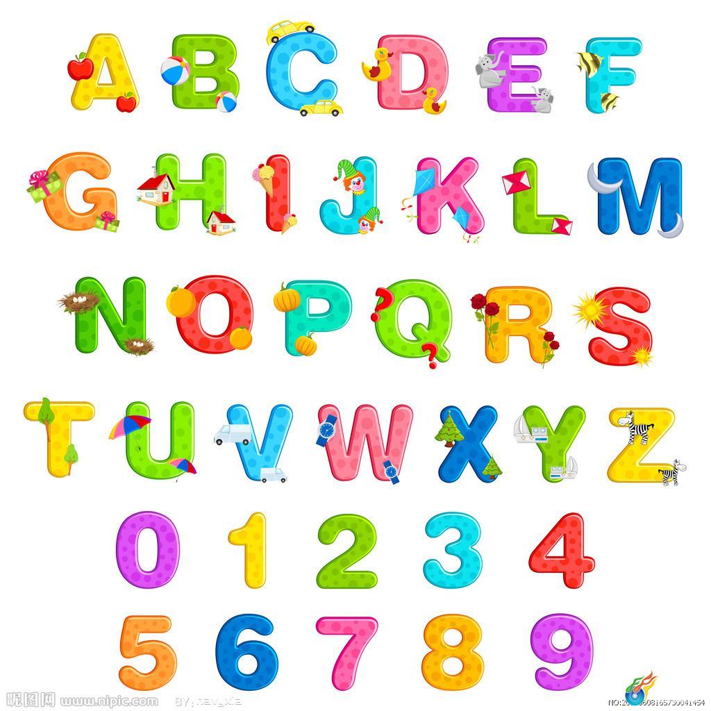 字母表用英文怎么说-英语26个字母表