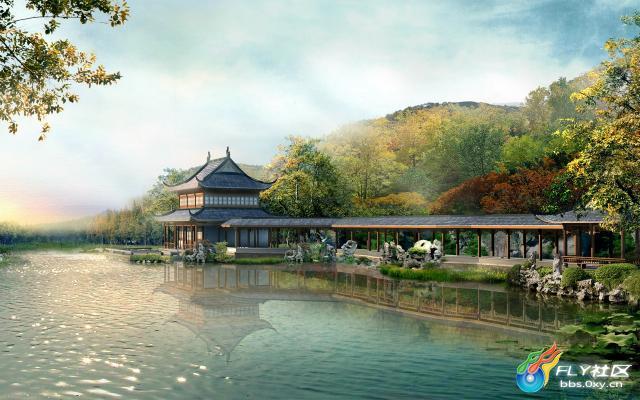 高清风景园林建筑分享展示